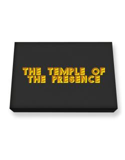 The Temple Of The Presence Canvas square