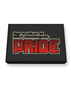 Agricultural Microbiologist Pride Canvas square