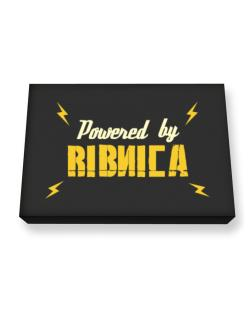 Powered By Ribnica Canvas square