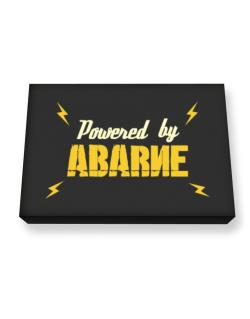 Powered By Abarne Canvas square