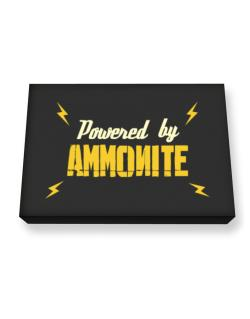 Powered By Ammonite Canvas square