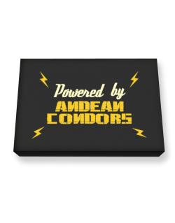 Powered By Andean Condors Canvas square