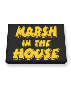 Marsh In The House Canvas square