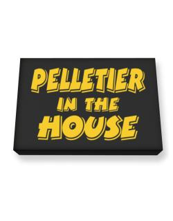 Pelletier In The House Canvas square