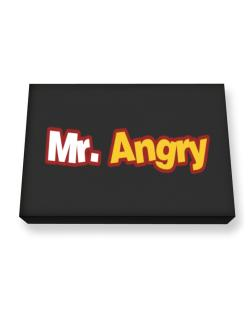 Mr. Angry Canvas square
