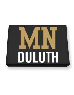 Duluth - Postal usa Canvas square
