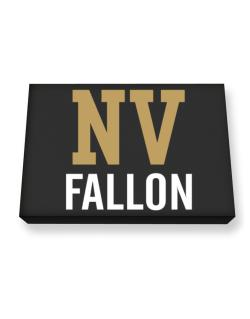 Fallon - Postal usa Canvas square