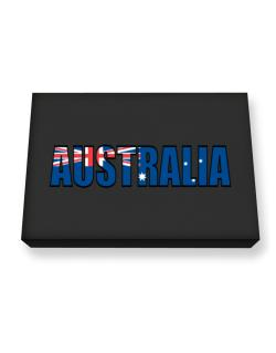 Australia Flag  Canvas square