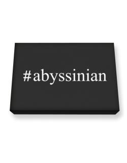 #Abyssinian - Hashtag Canvas square