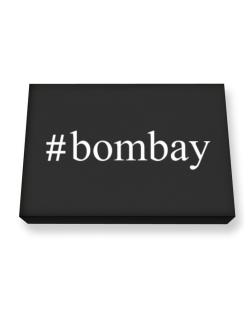 #Bombay - Hashtag Canvas square