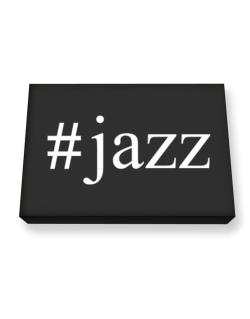 #Jazz - Hashtag Canvas square