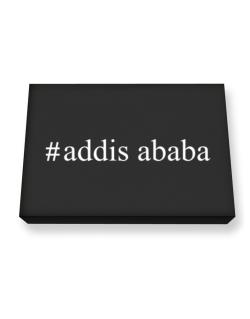 #Addis Ababa - Hashtag Canvas square