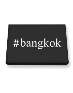 #Bangkok - Hashtag Canvas square