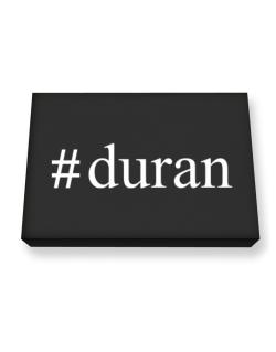 #Duran - Hashtag Canvas square
