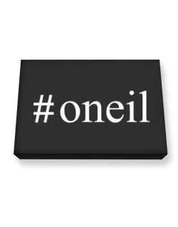 #Oneil - Hashtag Canvas square