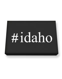 #Idaho - Hashtag Canvas square