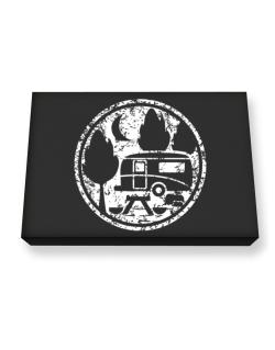Travel trailer camping Canvas square