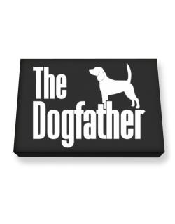 The dogfather Beagle Canvas square