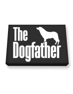 The dogfather Aidi Canvas square