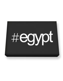 Hashtag Egypt Canvas square
