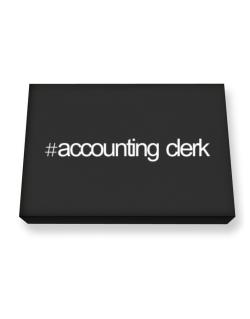 Hashtag Accounting Clerk Canvas square
