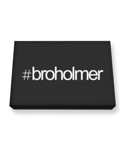 Hashtag Broholmer Canvas square