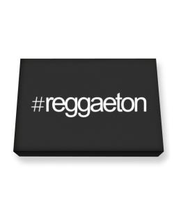 Hashtag Reggaeton Canvas square