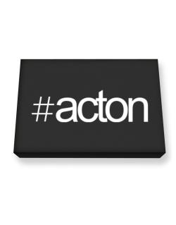 Hashtag Acton Canvas square