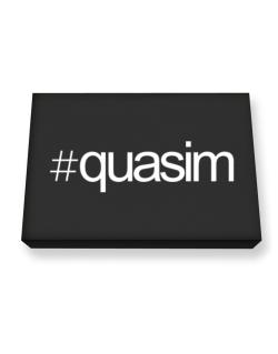 Hashtag Quasim Canvas square