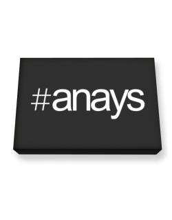Hashtag Anays Canvas square