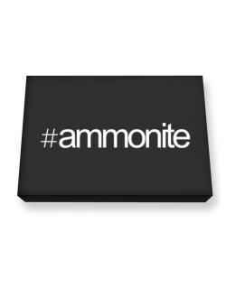 Hashtag Ammonite Canvas square