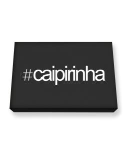 Hashtag Caipirinha Canvas square