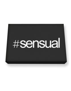Hashtag sensual Canvas square