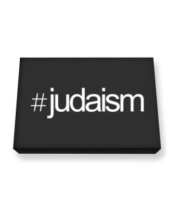 Hashtag Judaism Canvas square
