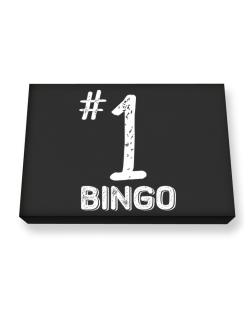 Number 1 Bingo Canvas square