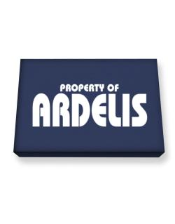 Property Of Ardelis Canvas square