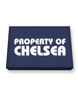 Property Of Chelsea Canvas square