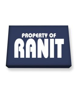 Property Of Ranit Canvas square