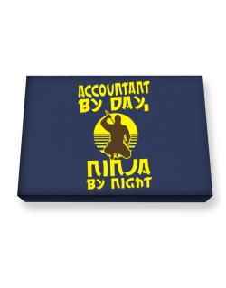Accountant By Day, Ninja By Night Canvas square