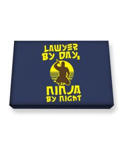 Lawyer By Day, Ninja By Night Canvas square