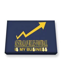 Australian Rules Football ... Is My Business Canvas square