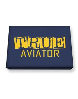 True Aviator Canvas square