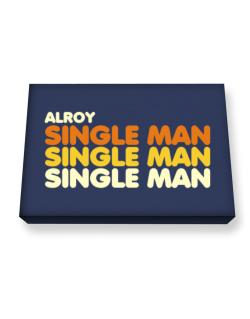 Alroy Single Man Canvas square