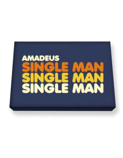 Amadeus Single Man Canvas square