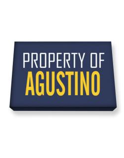 Property Of Agustino Canvas square
