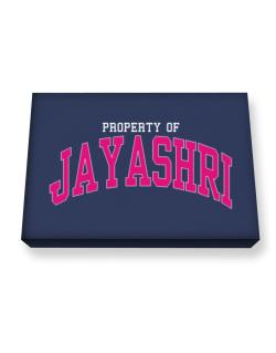 Property Of Jayashri Canvas square