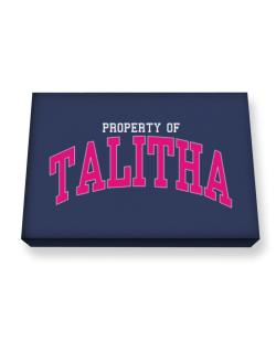 Property Of Talitha Canvas square