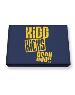 Kidd Kicks Ass!! Canvas square