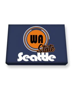 Seattle - State Canvas square