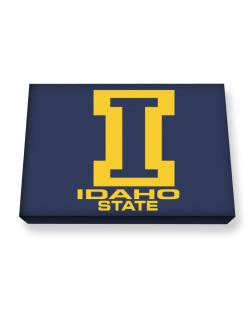 """ STATE ABC Idaho "" Canvas square"
